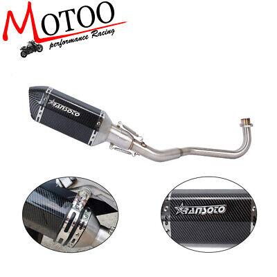 Full System Exhaust Pipe Low Side Mount For HONDA Grom 125 MSX 125 SF - Mount Full Exhaust