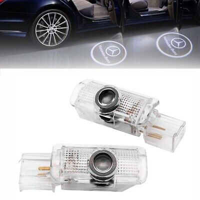 2x Türlicht Beleuchtung Logo LED Projektor Mercedes Benz R W251 ML W164 GL X164