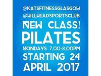 NEW! PILATES CLASS @ HILLHEAD SPORTS CLUB
