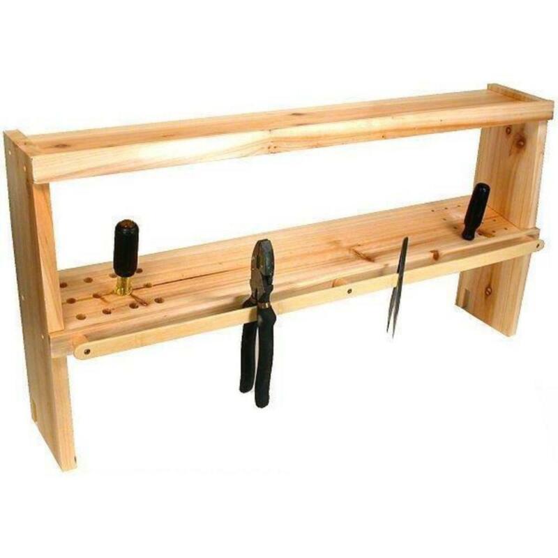 Work Bench Tool Rack Jewelers Watch Organizer Shelf Top