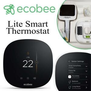 NEW ecobee3 Lite Smart Thermostat (Works with Amazon Alexa) Condtion: Brand New