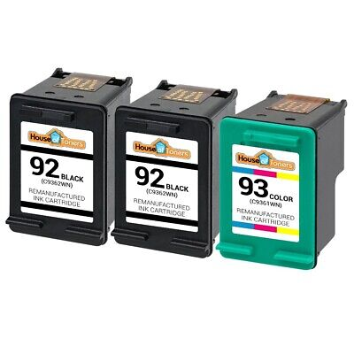 3 PK #92 #93 Ink Cartridges for HP Deskjet 5420 5438 5440 5442 5443 Printers