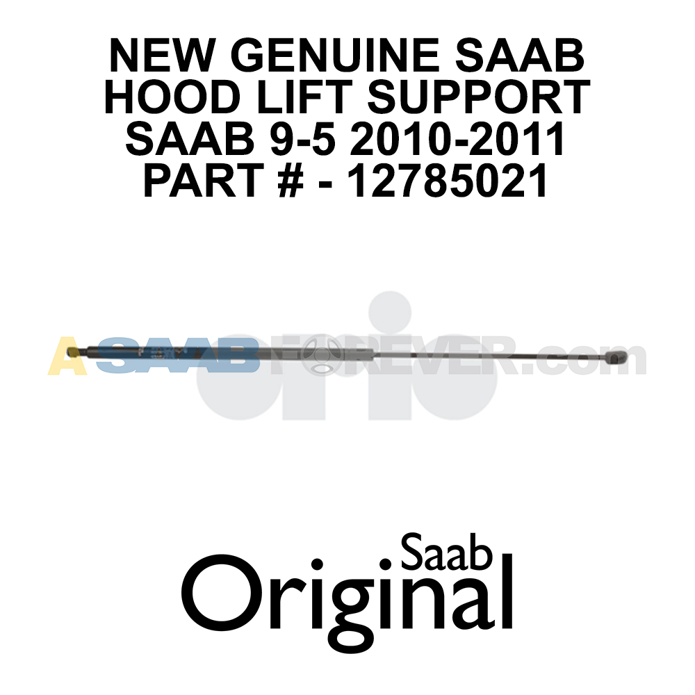 Pair MM Hood Gas Spring Shock 2x Struts Fits HYUNDAI Grand SAAB 9-3 127850021