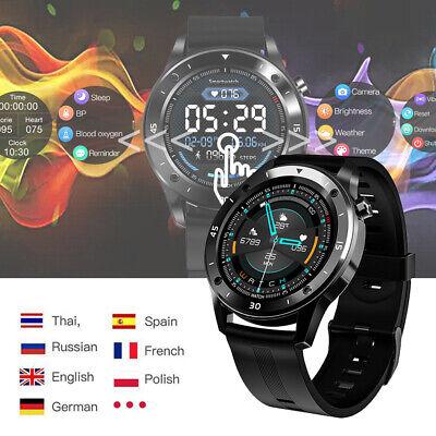 Smart Watch Sport Bracelet Heart Rate Blood Pressure Fitness IP67 HUAWEI Samsung