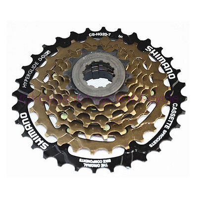 Shimano 7spd Cassette Cs-hg200 12-32t 7-speed Ecshg2007232 Sporting Goods Bicycle Components & Parts