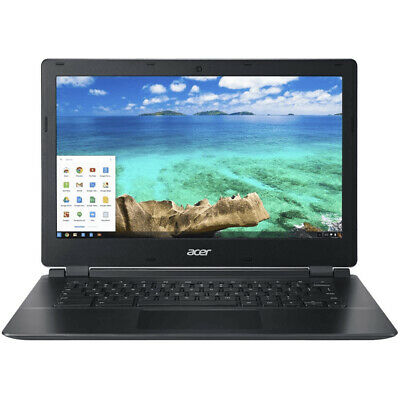 "Acer Chromebook C810 13.3"" 16 GB Compact Laptop, Black (Certified Refurbished)"