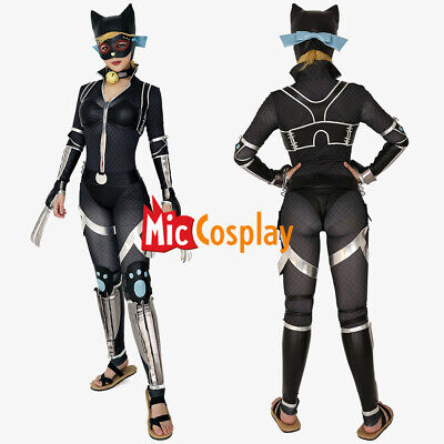 Cat woman Batman Ninja Cat Ninja Selina Kyle Cosplay Costume Jumpsuit](Batman Woman Costume)