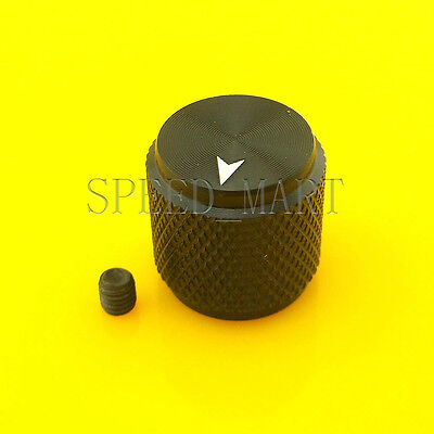 High Quality Precision Full Aluminum with set screw Knob for CD Player