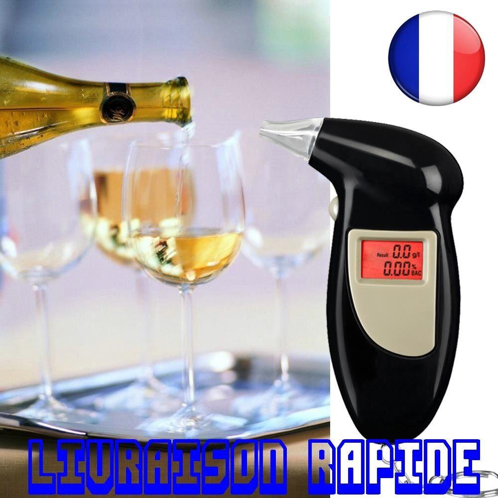 Alcootest Alkoholtester Electronique Alcool Porte Cle Alcotest Ethylotest Auto