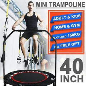 40'' Mini Trampoline Rebounder Cardio Fitness Jogger Exercise Regents Park Auburn Area Preview
