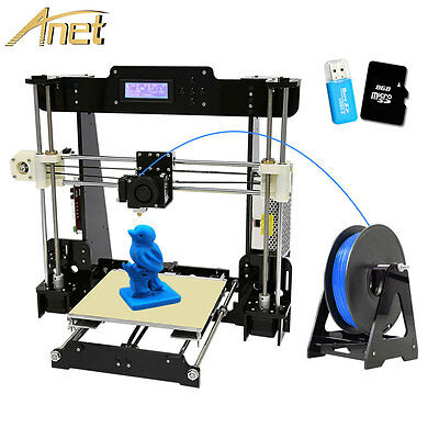 Anet A8 2017 Upgraded Eminence High Precision Reprap Prusa i3 DIY 3d Printer USA.