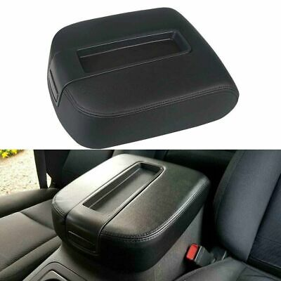 Armrest Lid Center Console Black Fit 07-14 Chevy Cadillac GMC Pickup Truck