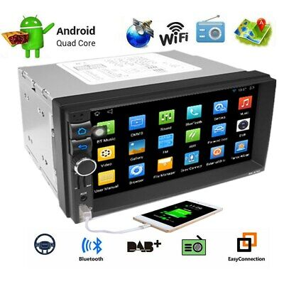 Android 6.1 Double 2 DIN Car Stereo Player 7'' 1GB RAM FM Radio MP5 GPS Wifi OBD