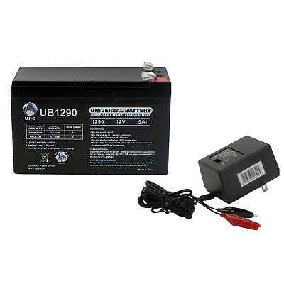 12V 9AH Battery for Lowrance X-4 Pro Fishfinder WITH CHARGER