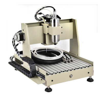 5 Axis Cnc 3040 Router Engraving Milling Machine Water Cooling Usb 800w Vfd 3d