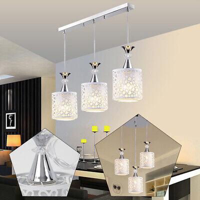 Modern Ceiling 3-Light Chandelier Lighting Fixture Pendent Lamp Home Dining Room