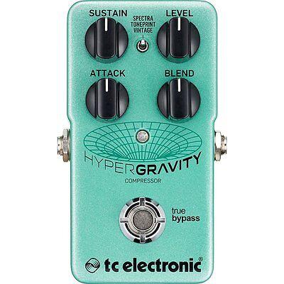 TC Electronic HyperGravity Compressor True Bypass TonePrint Guitar Effect Pedal