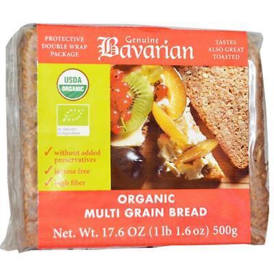Genuine Bavarian-Organic Multi-Grain Bread (6-17.6 oz boxes)