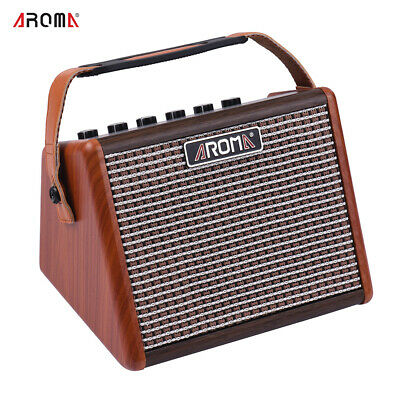 Built-in Battery Portable Acoustic Guitar Amplifier Amp BT Speaker K8Y7