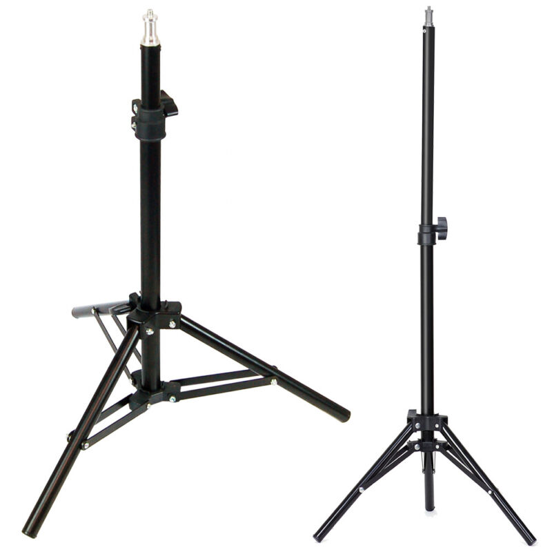 "28"" Adjustable Photo Studio Photography Tripod Light Stand Standard Mounting"