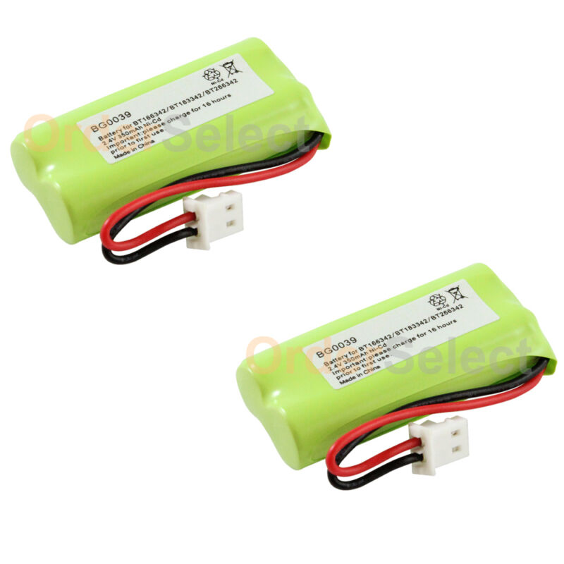 2x NEW Home Phone Battery for VTech BT166342 BT266342 BT183342 BT283342 300+SOLD