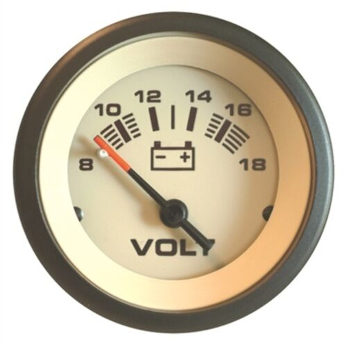 Sierra Sahara Voltmeter Gauge 59708P Yamaha Johnson Evinrude Mercury UNIVER MD