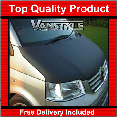 VW TRANSPORTER T5 BONNET BRA 2003-09 TOP QUALITY/FIT PROTECTOR COVER STONE GUARD