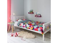 Child's/ kid's Mothercare single bed, white, for child/ kid