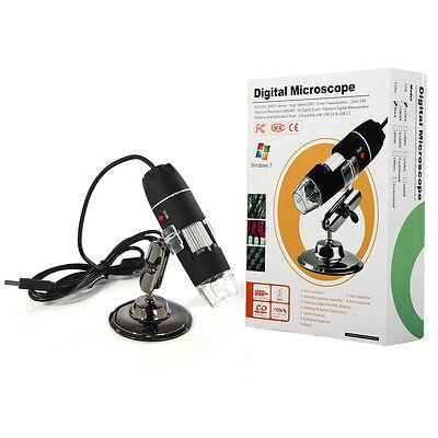 2MP USB Digital Microscope Endoscope Video Camera Magnifier 25x to 200x w/Driver on Rummage