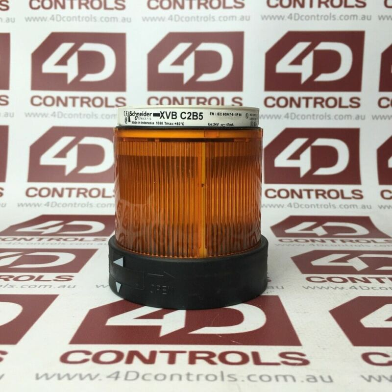 XVBC2B5 | Telemecanique | Steady Unit Light, Orange, 70mm, Used
