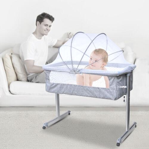 Baby Infant Bedside Bassinet Crib Cradle Nursery Carrier Newborn Sleeper Basket