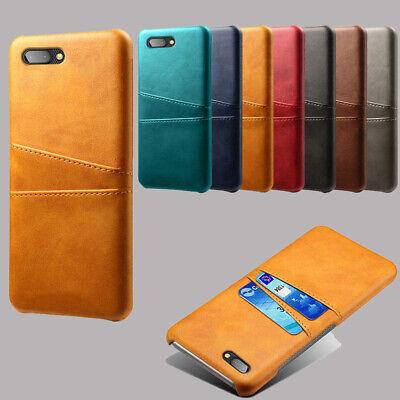 For Blackberry Key 2 DTEK 50 DTEK 60 Leather Wallet Card Slot Hard Case Cover  Hard Case Cover Blackberry