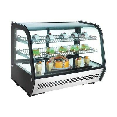 Marchia Mdc160 36 Refrigerated Countertop Display Case Ss Front