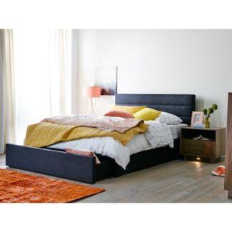 2 x Snooze Paddington King Single Bed in Slate