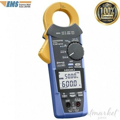 Hioki Cm4372 Acdc Clamp Meter Acdc 600a Bluetooth Genuine From Japan New