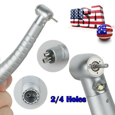 24-hole Fiber Optic Dental E-generator Led 3 Way High Speed Handpiece Usa