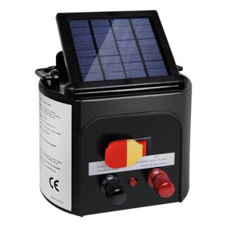 AUS FREE DEL-5km Solar Powered Electric Fence Energiser Charger