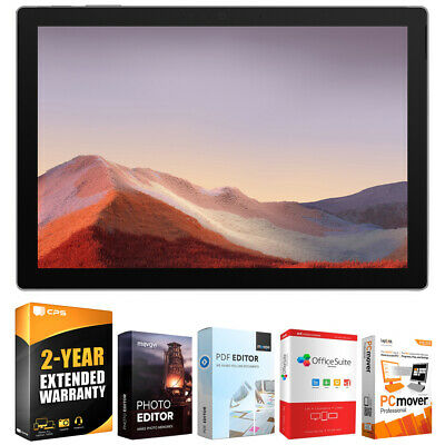 "Microsoft Surface Pro 7 12.3"" Touch Intel i5-1035G4 8GB/128GB w/ Warranty Bundle"