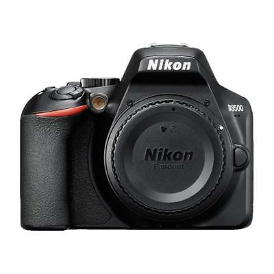 Nikon D3500 24.2MP DX-Format CMOS Sensor Digital SLR Camera BODY ONLY (Dx Format Cmos Sensor)