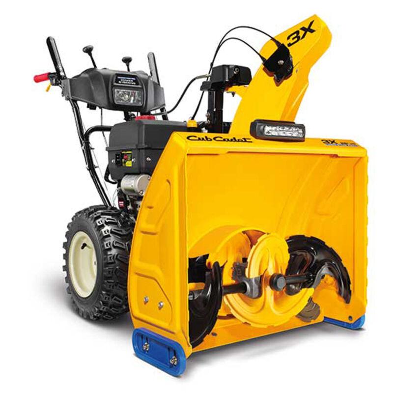 "HD Cub Cadet 3X Snow Blower Thrower 28"" Gas Powered Electric Start Power Steer"