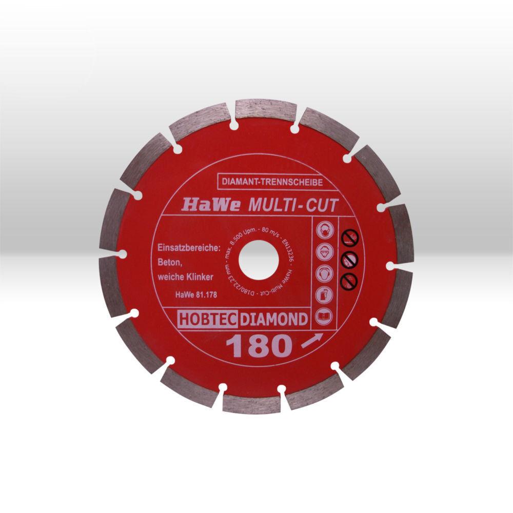 HOBTEC Super Cut Diamant-Trennscheibe 125 x 22,23 mm Fliesen