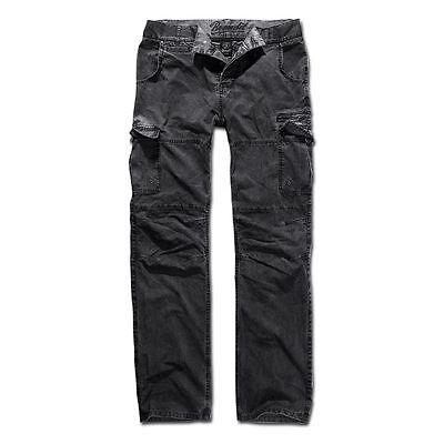 Brandit Hose Rocky Star Herrenhose Bekleidung schwarz Worker-Stil 100% Baumwolle Rocky-star