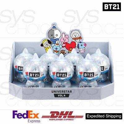 BTS BT21 Official Goods Collectible Figure Blind Pack Vol4 Winter Series 7SET