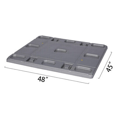 48 X 45 X 1.97 Plastic Pallet Pack Container Lid
