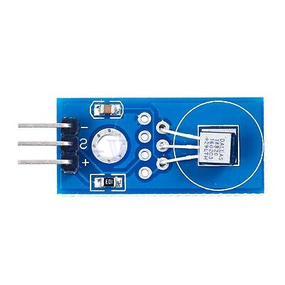 2x Ds18b20 Chip Temperature Humidity Sensor Module Board For Arduino Tw