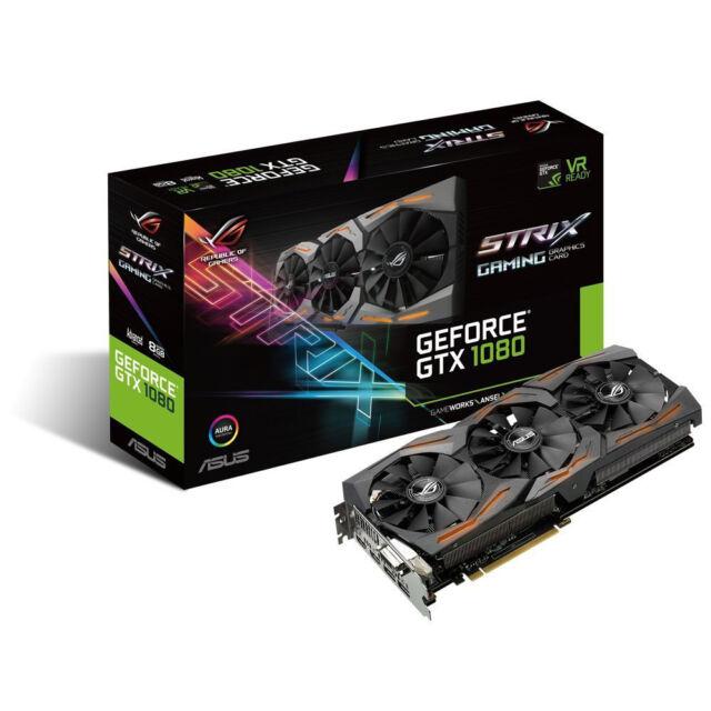 ASUS GeForce GTX 1080 8GB ROG  -STRIX-GTX1080-A8G-GAMING
