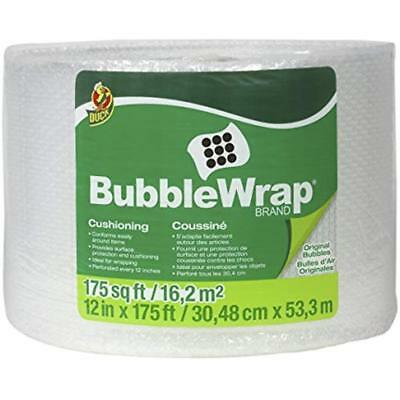 Bubble Wrap Roll Cushioning Shipping Packing Carry Moving Office 12 X 175 New
