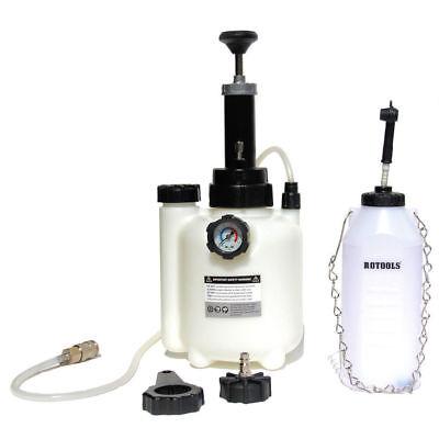 Bremsenentlüfter Bremsenentlüftungsgerät + Auffangflasche + E20 Adapter