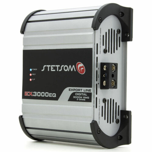 Stetsom Amplifier EX3000 EQ - 3600 Watts RMS 2 ohms Digital