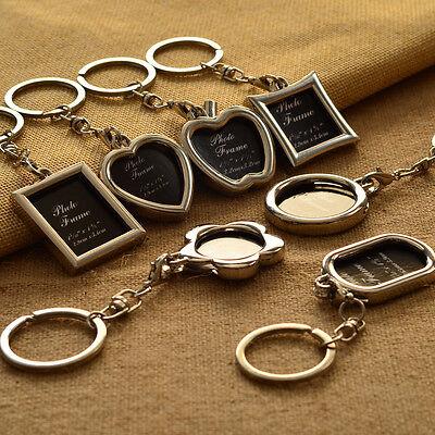 Hot 1Pc Photo Frame Keychain Key Chain Ring Keychains Key Strap Fashion Gifts
